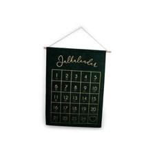 Form Living Paketkalender Sammet 50x70 cm