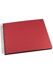 Fotoalbum GRIEG Design stort 40 sider rød