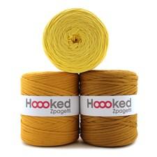 Hoooked Zpagetti Garn Återvunnen bomull ca 900g Yellow shades (ZP001-13)