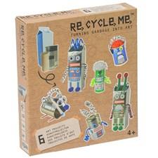 Recycleme Robots World DIY Askartelusetti