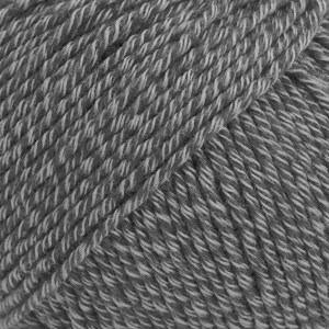 Drops Cotton Merino Uni Colour Lanka Villasekoitus 50g Grey 19