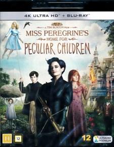 Miss Peregrines hem för besynnerliga barn - 4K Ultra HD Blu-ray