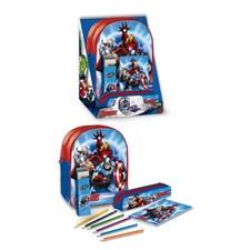 Filled Backpack Set Junior, Avengers
