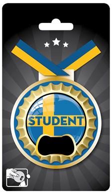 Medalj Med Kapsylöppnare Student