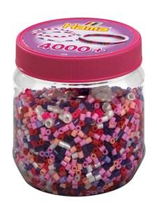 Midi Pärlor 4000, pink mixMidi, Hama