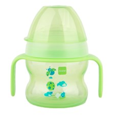 Spillfri Mugg- Starter Cup 150 ml, Grön, Mam