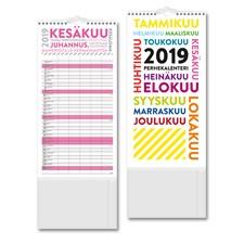 Perhekalenteri 2019 Burde TrendArt