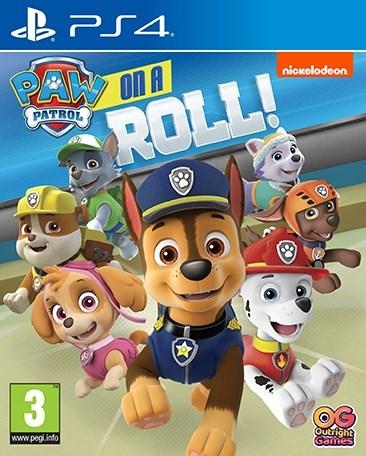 PAW Patrol - On a Roll  Namco Bandai - playstation 4