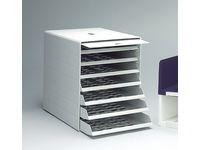 Blankettboks Idealbox Plus 7-hyller grå