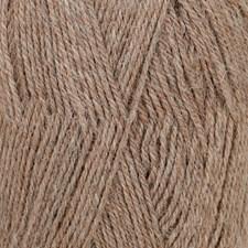 Drops Flora Mix Garn Ullmix 50g Brown 08