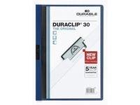 Klämmapp Duraclip 2200 A4 3mm blå