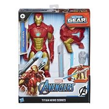 Avengers Titan Hero Blast Gear Iron Man Toimintahahmo