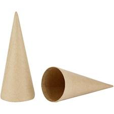 Pahvikartiot, kork. 20 cm, halk. 8 cm, 5 kpl
