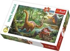 Pussel 60 bitar, Dinosaur migration