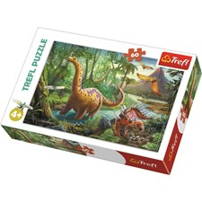 Palapeli 60 palaa, Dinosaurusten muutto