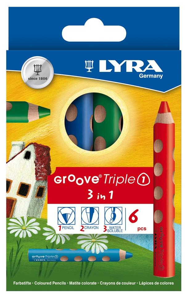 Groove Triple1 fargeblyant