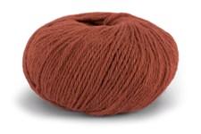 Knit At Home Classic Alpaca Wool Garn Ullmix 50 g Terracotta 521