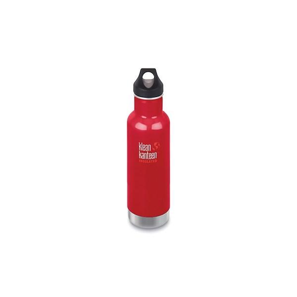 Klean Kanteen Isolerad Classic Flaska 0.592 L Röd (rød)