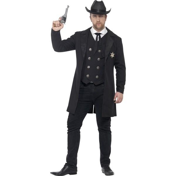 e1afa257 Sheriff Maskeraddräkt (XX-Large), Smiffys - maskeradkläder vuxna ...
