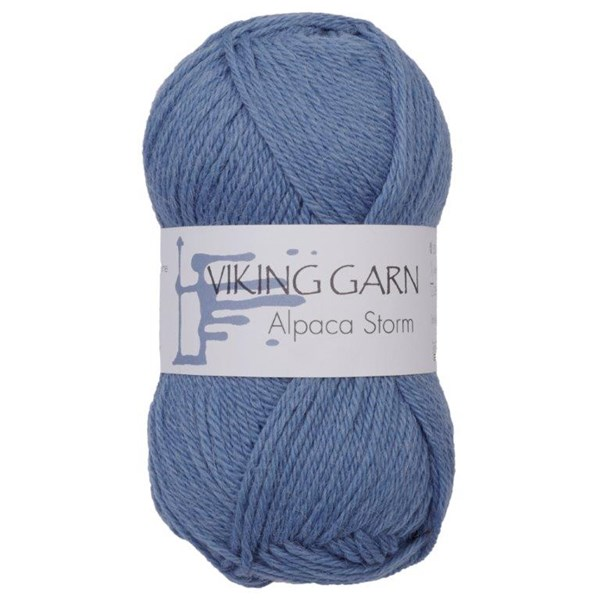 Viking of Norway Alpaca Storm 50 gr Mellomblå 523