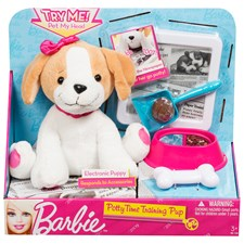 Barbie Pottytime Training Pup