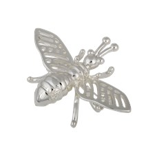 Ioaku Insect Brooch Alloy Silver
