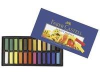 Faber-Castell Pehmeä Pastelliliitu 24 Väriä
