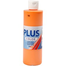Plus Color-askartelumaali, 250 ml, kurpitsa