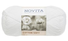Novita Cotton Soft puuvillalanka 50 g