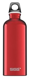 Drikkeflaske, Traveller, 0,6 L, Rød, SIGG