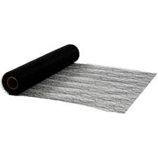 Bordløper, B: 30 cm, 10 m, svart