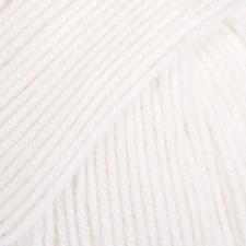 Baby Merino Merinovillaa 50 g 01 white Drops