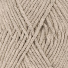 Drops Big Merino Uni Colour Garn Ullgarn 50g Beige 19