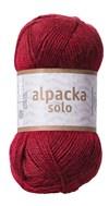 Alpacka Solo Ullgarn 50g Vin (29110)