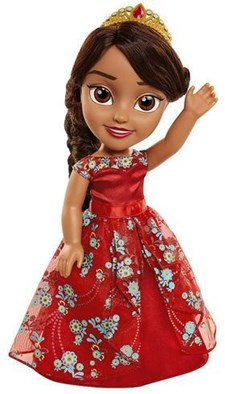 Toddler Doll 38 cm, Elena Royal Ball Gown, Disney Elena från Avalor