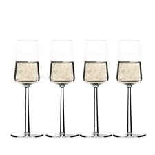 Iittala Essence Champagneglas 4 pack 21 cl Klar