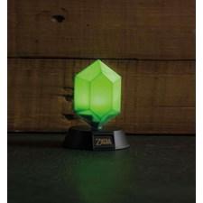 Zelda Green Rupee 3D Lampa