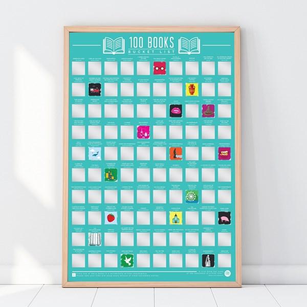 Scratch Off Bucket List Böcker  Gift Republic Ltd. - posters & väggdekoration