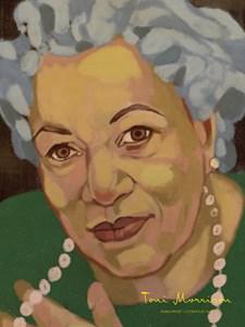 Porträtt Toni Morrison Poster A4