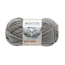 Novita Baby Wool villalanka 50 g harmaa 441