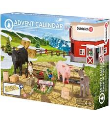 """Joulukalenteri 2015, """"Joulu maatilalla"""", Schleich"""