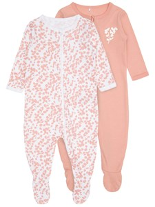 2-pack pyjamas, Rosa, Name it