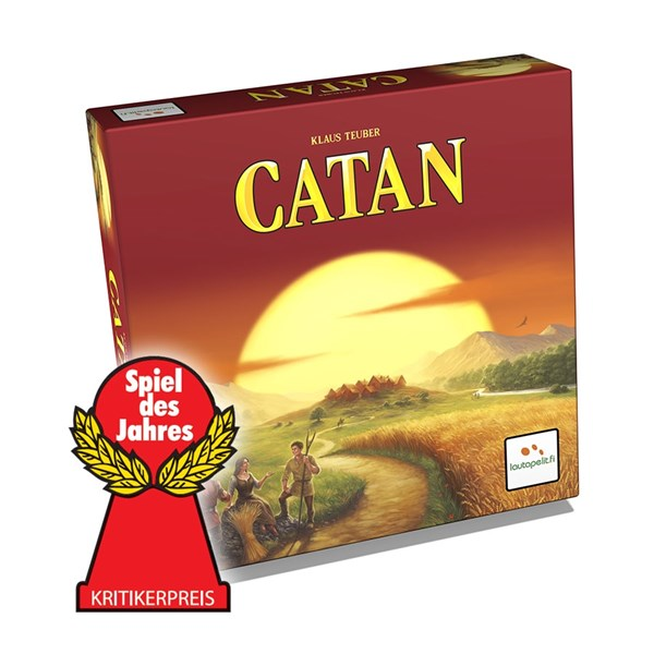 Settlers of Catan, Sällskapsspel