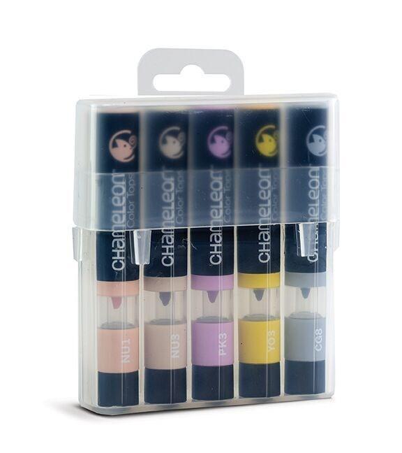 Chameleon Color Tops Pen Marker Tusj - Blue Tones