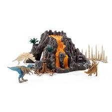Vulkan och T-Rex, Schleich