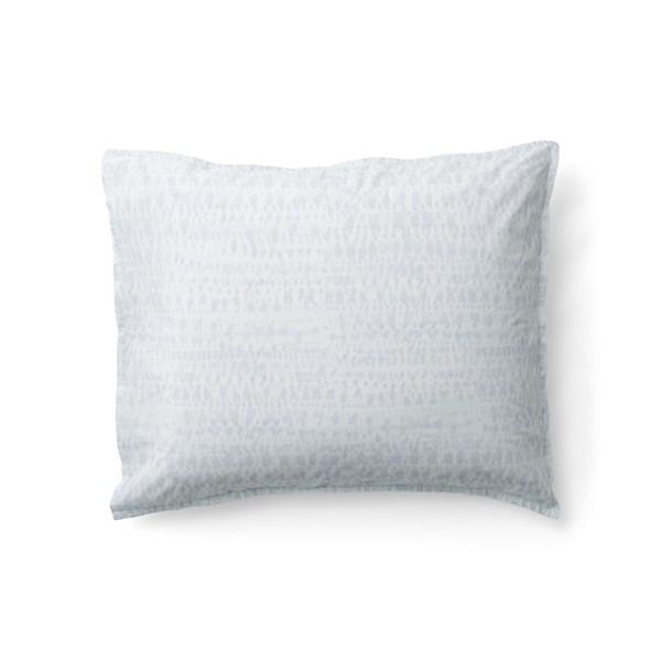 Sköna Hem Brush Bristle Örngott Tvättad Bomullspercale 50x60 cm blå