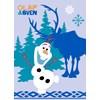 Matta, 95x133 cm, Frozen Olaf och Sven