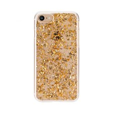 FLAVR Mobilskal Flakes för iPhone 6/6S/7/8 Gold