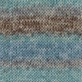 Drops Fabel Long Print Garn Ullmix 50g Ocean View (604)
