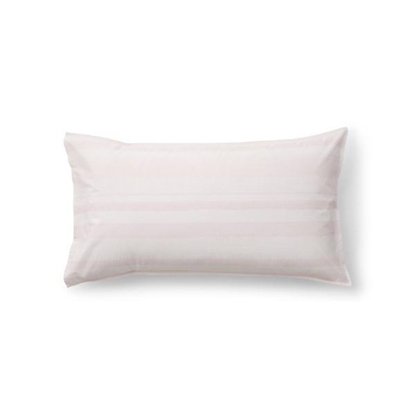 Sköna Hem Gentle Brim Örngott i Tvättad Bomullspercale 50x90 cm rosa